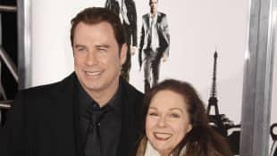 John Travolta and Karen Lynn Gorney