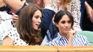 Kate Middleton and Meghan Markle