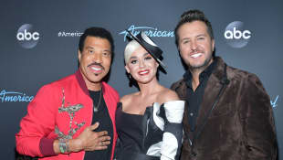 Katy Perry, Luke Bryan, and Lionel Richie