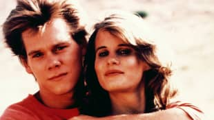 Kevin Bacon und Lori Singer