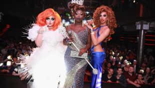 Kim Chi, Bob the Drag Queen and Naomi Smalls