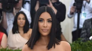 "Kim Kardashian West attends the ""Rei Kawakubo/Comme des Garcons: Art Of The In-Between"" Costume Institute Gala."