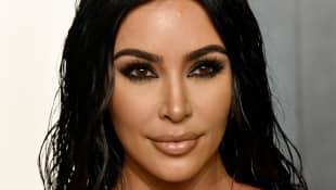 Kim Kardashian Meets Brad Pitt At Vanity Fair Oscars After-Party