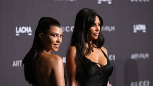 Kim Kardashian Says Kris Jenner Cried Watching The 'KUWTK' Fight With Her Older Sis Kourtney