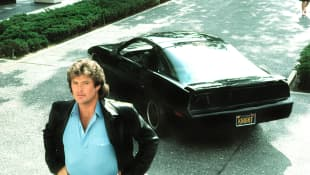Knight Rider reboot movie 2020. David Hasselhoff starred in the '80s NBC series.