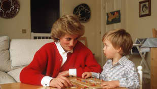 Lady Diana and Prince William