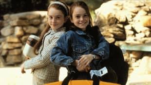 Lindsay Lohan en 'Juego de gemelas'