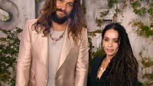 Lisa Bonet y Jason Momoa