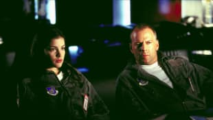 Liv Tyler y Bruce Willis
