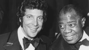 Tom Jones and Louis Armstrong
