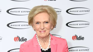 Mary Berry attends The Oldie of the Year Awards held at Simpson's In The Strand on January 29, 2019 in London, England.