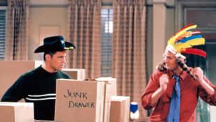 Matt LeBlanc y Matthew Perry en 'Friends'
