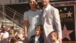 Matthew McConaughey y su familia
