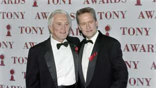Kirk Douglas y Michael Douglas