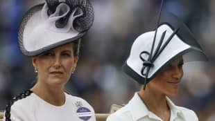 Sophie, Countess of Wessex, and Meghan Markle