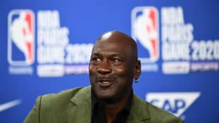 Michael Jordan in 2020
