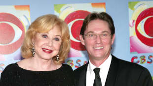 Michael Learned and Richard Thomas