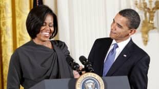 Michelle y Barack Obama