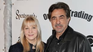 "Criminal Minds: ""David Rossi"" actor Joe Mantegna with wife Arlene Vrehl."