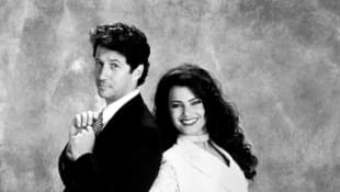 Charles Shaughnessy and Fran Drescher