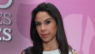 Paola Rojas posa