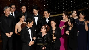 'Parasite' Stuns At The 2020 Oscars With Best Picture And Best Director Wins
