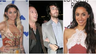 Paris Jackson, Julian and Sean Lennon, and Oona Chaplin