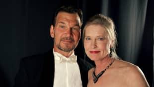 Patrick Swayze y Lisa Niemi