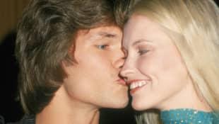 Patrick Swayze and Lisa Niemi