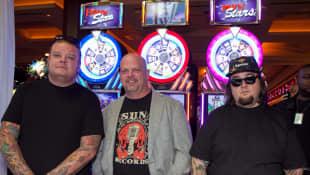 Rick Harrison, Corey Harrison y Austin Russell