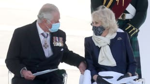 Prince Charles & Duchess Camilla's Cute Moment On Greece Visit 2021 trip pictures royal family