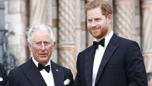 """Prince Charles """"Looking Forward"""" To Seeing Prince Harry Again Prince Philip funeral death 2021 royal family news"""