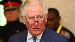 "Prince Charles ""Sad"" Time Without Grandson Archie Harry Meghan 2020"