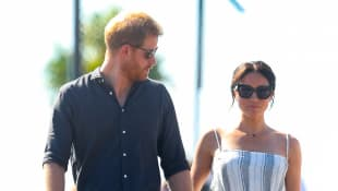Prince Harry & Meghan Markle California Famous Tradition