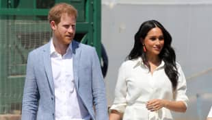 Prince Harry & Meghan Markle Honoured Princess Diana In Baby Announcement picture portrait photo Valentine's Day 2021