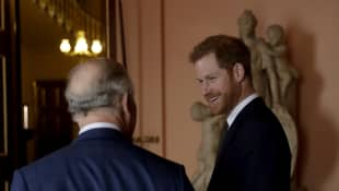 Prince Harry-Prince Charles relationship strong since L.A. move, report says.