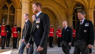 Prince Philip's Funeral Procession