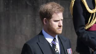 Prince Harry: Royal Insider Reveals What Happened During UK Trip return home Queen's birthday Charles William Philip funeral
