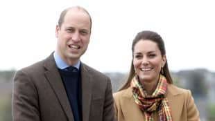 Prince William and Duchess Kate Middleton Romantic Night Out During St. Andrews Visit 2021 royal tour Scotland restaurant photos pictures