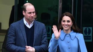 Príncipe William y Duquesa Catalina de Cambridge