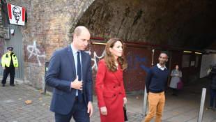 El príncipe William y la duquesa Kate