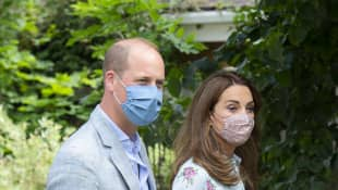 Prince William & Kate Middleton Returning Home After Lockdown Kensington Palace Anmer Hall 2020