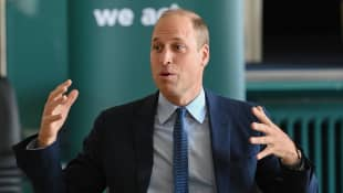 Prince William visits Northern Ireland pictures 2020.