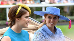 Princess Beatrice & Princess Eugenie Pose In New Wedding Eve Photo - See It Here!