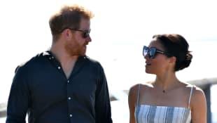 Príncipe Harry y Meghan Markle