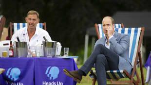 Tony Adams y el príncipe William