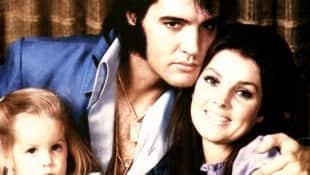 Priscilla, Elvis and Lisa Marie Presley