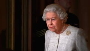 Queen Elizabeth II Seen For First Time Since Prince Philip's Death walking corgis driving Frogmore Gardens 2021 royal family news