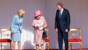 The Bidens and Queen Elizabeth II