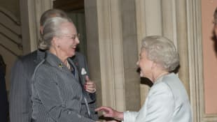 Queen Elizabeth and Queen Margrethe